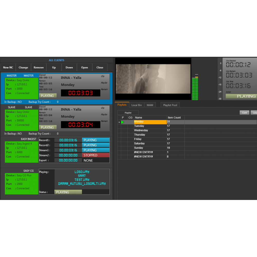 Easy Onair Playout - Products - ONAIR