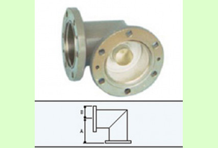 Elbow Flanged Type