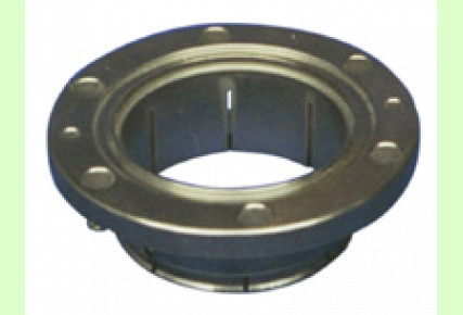 Flanges with clamping connection