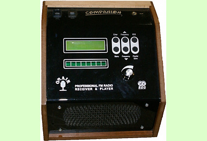 COMPANION - FM Warning Receiver