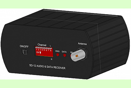 SD-12 - FM Audio And Data Receiver