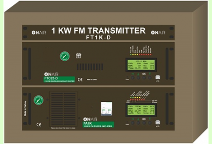 FT1K-D - 1000 W FM Digital Transmitter