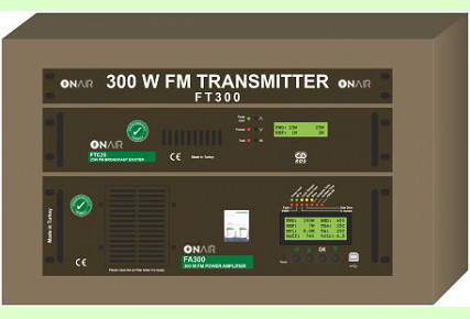 FT300 - 300 W FM Digital Transmitter