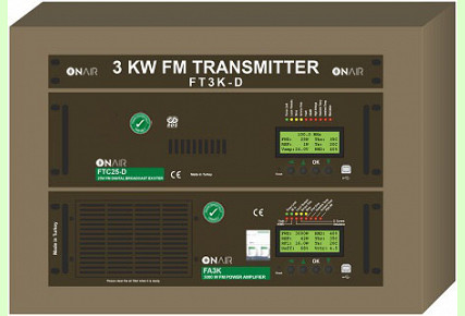 FT3K-D - 3000 W FM Digital Transmitter