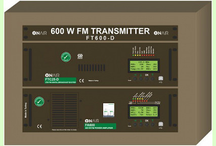FT600-D - 600 W FM Digital Transmitter