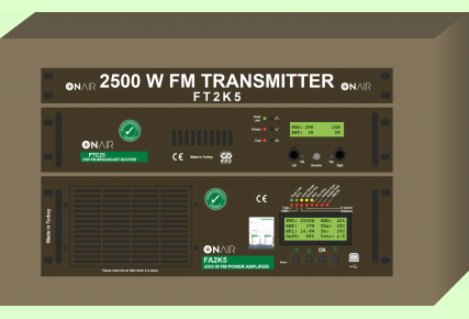 FT2K5 - 2500 W FM Digital Transmitter