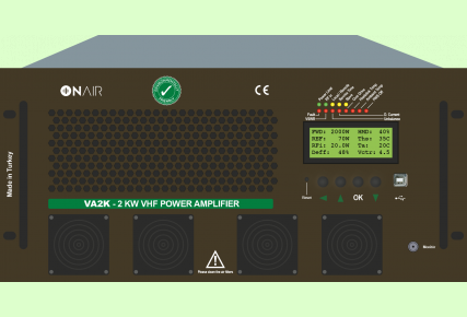 VA2K - 2 KW VHF AMPLIFIER