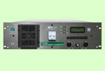 FTC2K - 2000 W FM Compact Transmitter