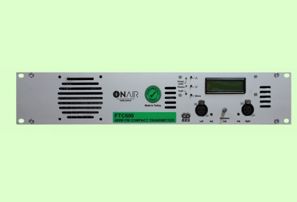 FTC600 - 600 W FM Compact Transmitter