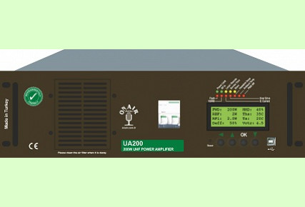 UA200 - 200 W UHF AMPLIFIER