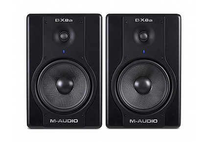 BX8a - M-Audio Deluxe 130 Watt Bi-amplified Studio Reference Monitors