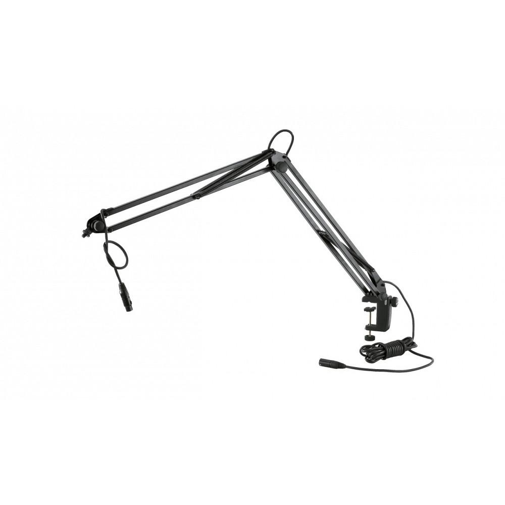 k u0026m microphone desk arm - products